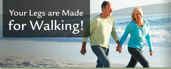 Your Legs Are Made for Walking!